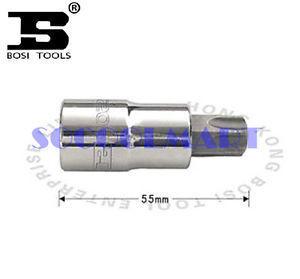 PRETTY 2Pcs 55mm Long 1/2-inch Drive T30 Steel Torx Screwdriver Bit Socket*