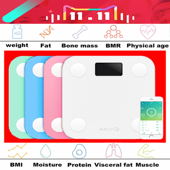 Original yunmai mini smart weighing scale digital scale support Android4.3 IOS7.0 Bluetooth 4.0