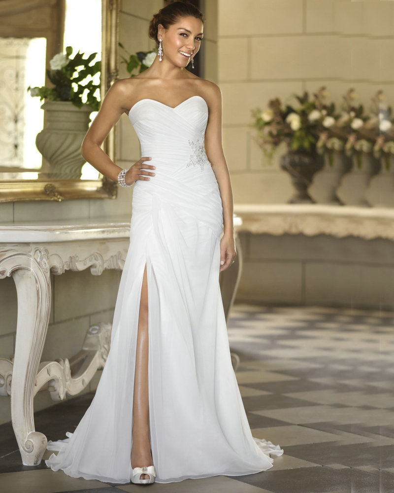 Cheap wedding dresses beach style bridesmaid dresses Inexpensive beach wedding dresses