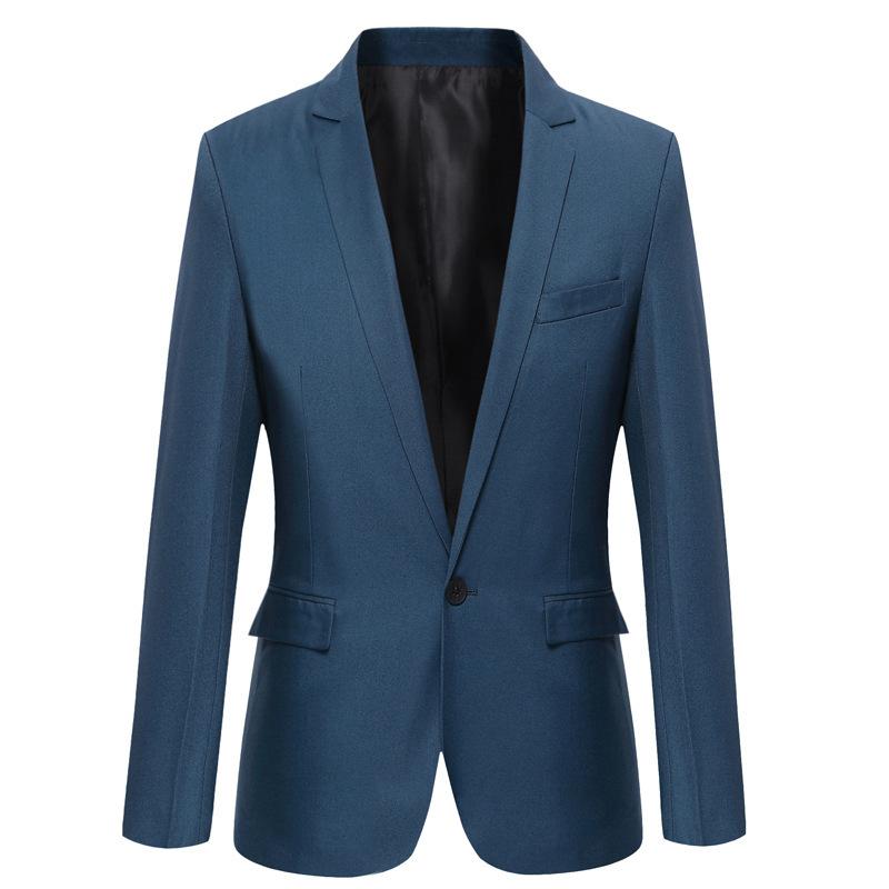 summer blazer men Men's 2015 spring and autumn small jacket Korean Slim suits men's suit manufacturer wholesale(China (Mainland))