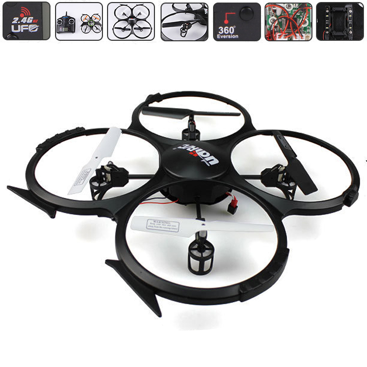 New High Quality .4Ghz 4ch 6 Axis Quadrocopter Camera rc Helicopter 3D Roll quad helicopter with camera SV005926(China (Mainland))