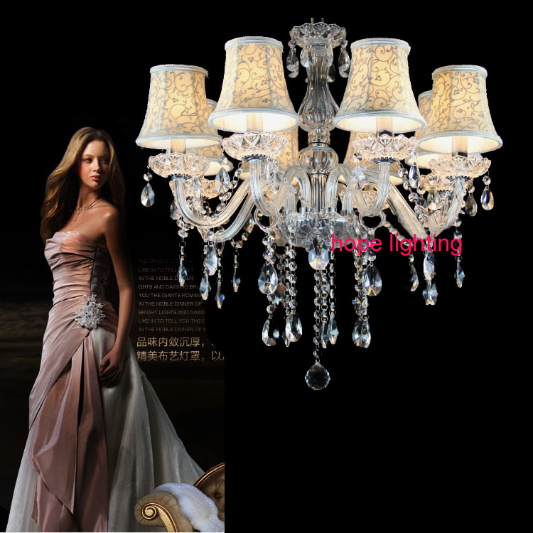 White Crystal Lighting Chandeliers Modern crystal chandelier for living room lights bedroom lamp k9 crystal Chandelier light<br><br>Aliexpress