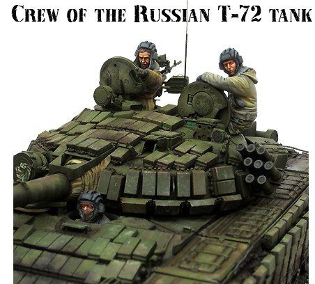 1/35 Scale Modern Russian army soldiers Chechen war tank soldier Resin Model Free Shipping(China (Mainland))