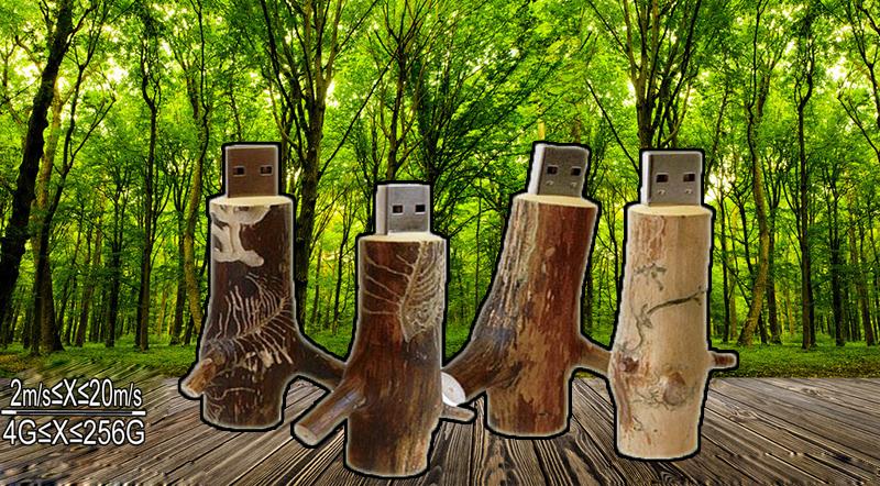 Wooden creative gift customized wood USB flash drive u disk USB 2.0 flash drive 8GB 16GB 32GB 64GB tree stump flower stick key(China (Mainland))
