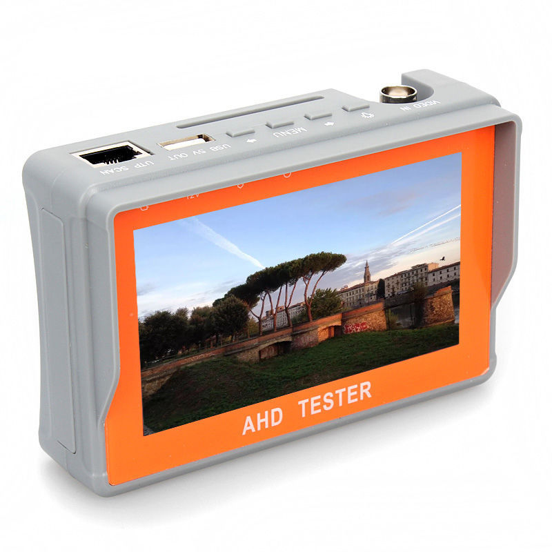 4.3-Inch LCD Video Test 12V Power Output AHD CVBS 1080P CCTV Camera Tester Monitor(China (Mainland))