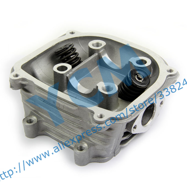 EUI GY6-125cc Cylinder Head Assembly Diameter 52.4mm with Valves for Chinese Scooter Moped Installed Valves Free Shipping