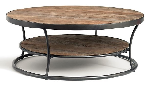 american short round tea table coffee table ikea iron retro wood to do the old wrought iron