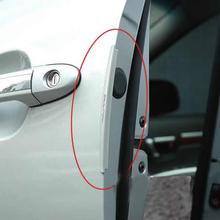 Good Flexibility 8pcs Tansparent Car Door Edge Anticollision Strip Chafing Protection Strip E#TN(China (Mainland))