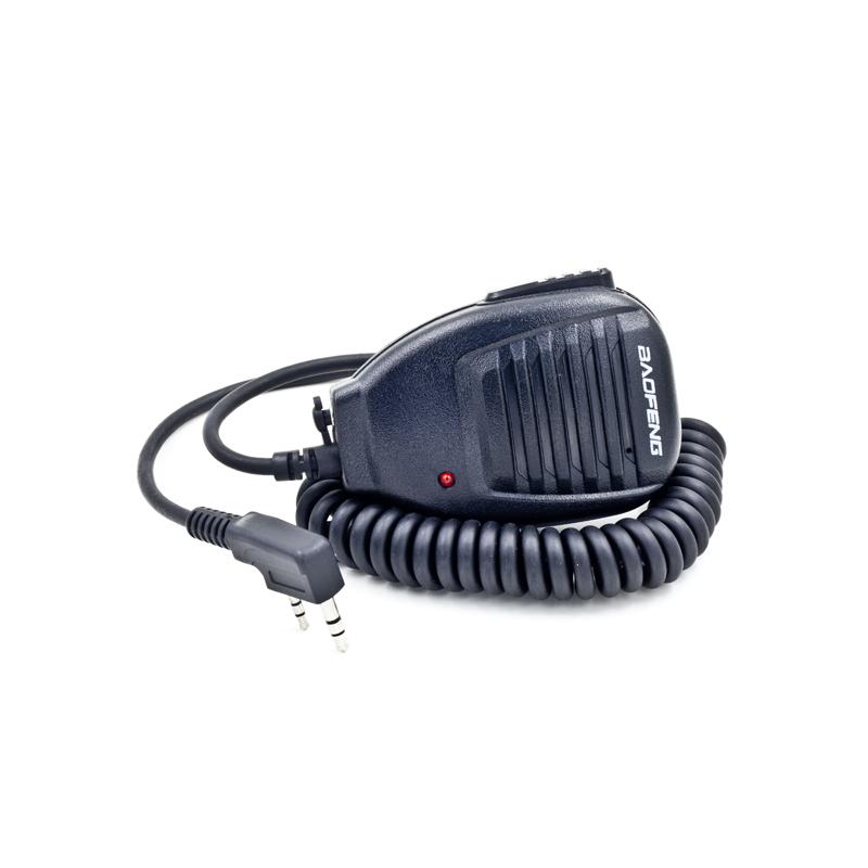 Walkie Talkie Baofeng Handheld Microphone Speaker MIC for Portable two way radio UV-5R Pofung UV-5RE Plus UV-B5 BF-888S(China (Mainland))