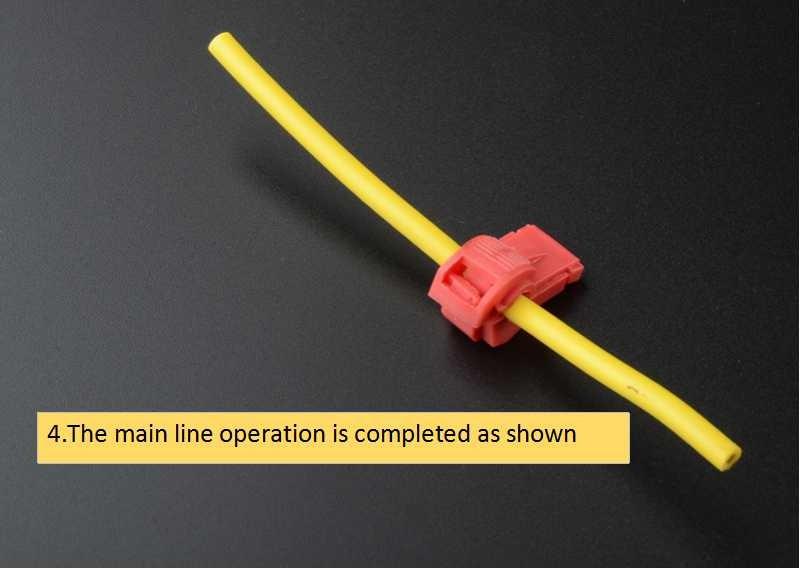 90PCS Wire Cable Connectors Terminals Crimp Scotch Lock Quick Splice Electrical Car Audio 0.5-6.0mm 22-10AWG Kit Tool Set