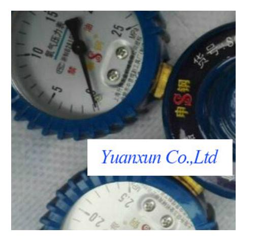 B must gauge Oxygen pressure gauge pressure gauge oxygen pressure reducer propane(China (Mainland))