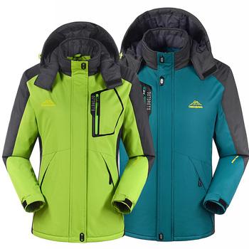 Пуховик, мужчины женщины на открытом воздухе jaqueta тепловой пальто катание на лыжах ...