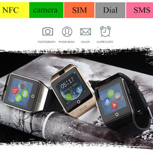 2Pcs/lot Bluetooth Wrist Smart Watch Phone Support SIM Card For Android Huawei Lenovo LG HTC ZTE Galaxy S6 S5 IOS iPhone 6 6S 5S