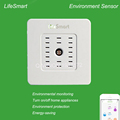 High Quality Smart Home Multi Sensor Temperature Humidity Detector Smart Remote Wireless Control Lifesmart Environment Sensor
