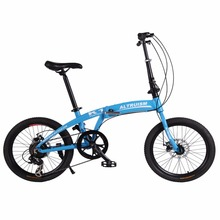 Buy Altruism K1 7 Speed 20 Inch Steel Folding Bike Aluminum Alloy Frame MTB Mountain Bikes Folding Bicycle Boys Girls Bicycles for $279.99 in AliExpress store