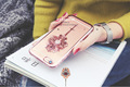 Luxury Godness Totem Rhinestone Crystal Plated TPU Soft Skinny Cover Case Protector For iphone 6 6s