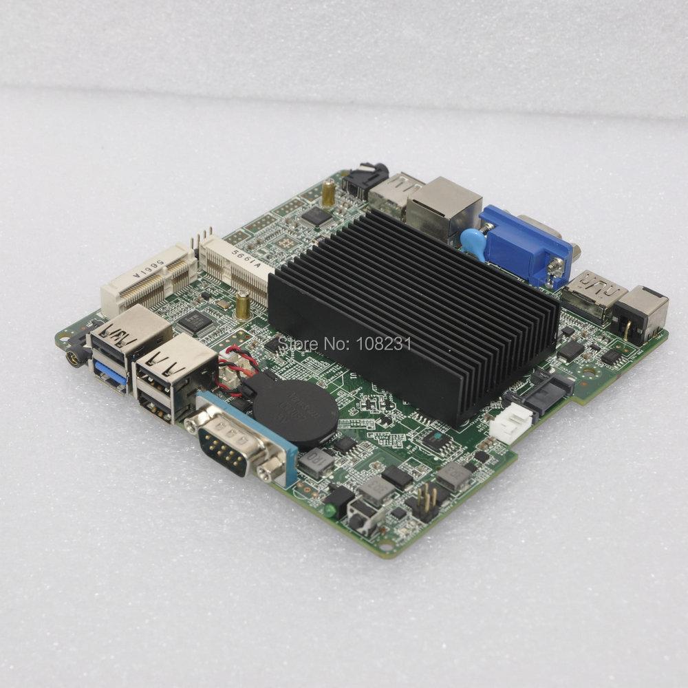 Bay Trail j1800 mini itx motherboard dual core 2.41Ghz, HD MI, VGA, LAN, 5 USB, 1 COM Port, DC 12V nano itx motherboard(China (Mainland))