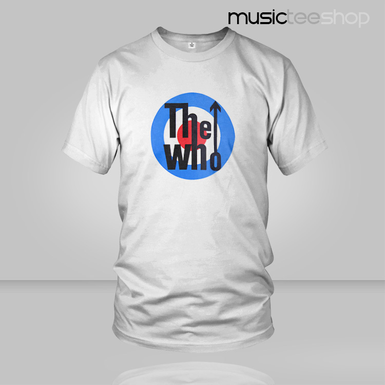 2016 THE WHO T Shirt Rock Band Cotton T-shirt Hot sale Music DJ Male & Famale Freeshipping(China (Mainland))