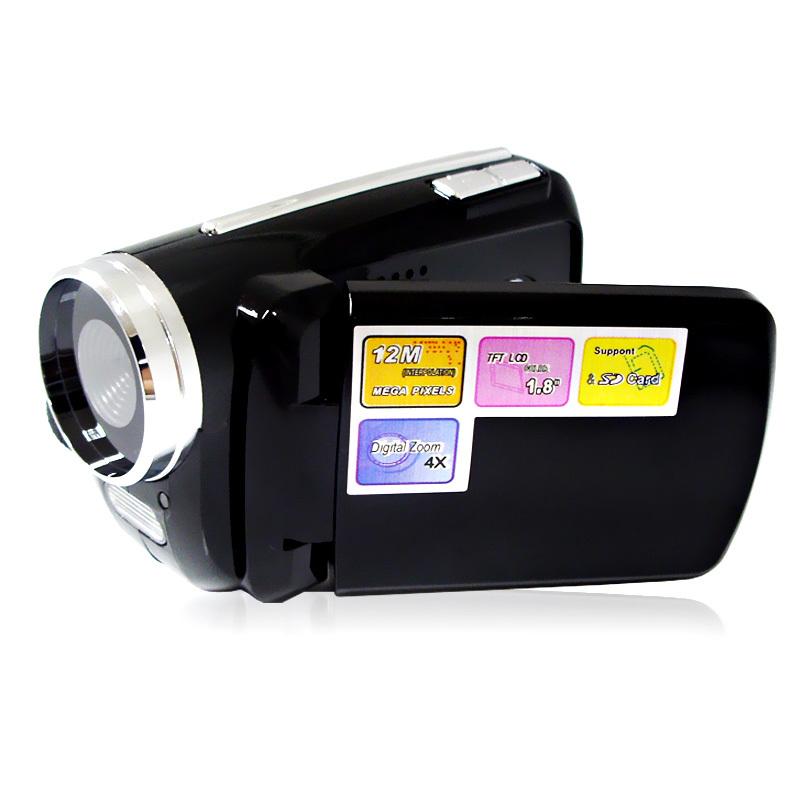 Cheap Mini Camcorder 4X Digital Zoom 1.8 Inch LCD Display Max 12Megapixel Gift Digital Camera HD Camera Gift Video HD Camcorder(China (Mainland))