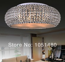 promotion sales  chrome plated modern bedroom ceiling lights , fashion  crystal lighting(China (Mainland))
