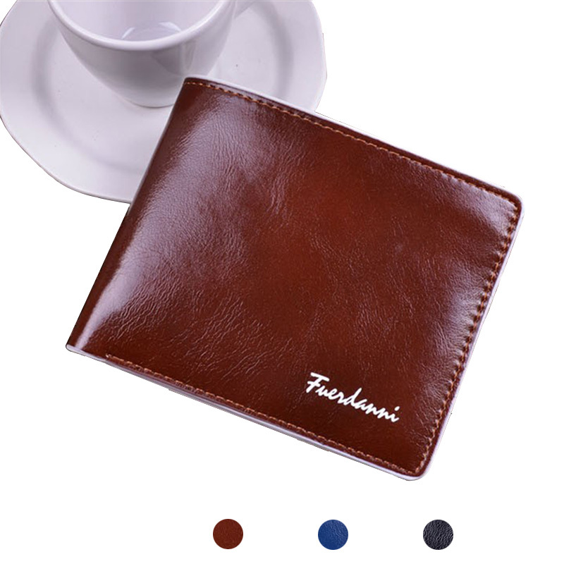 Leather Wallet Top Quality Men Wallets Soft Leather Purse Casual Removable Card holder(China (Mainland))