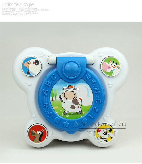 Baby learning Toys Mirror Learning Machine The Best New Style Gift Plastic Toy For Children Study Toys