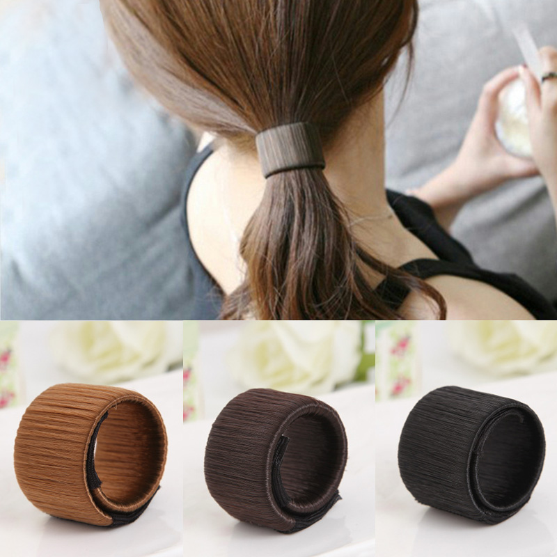 1PC Headband Headwear Magic Professional Hair Styling Tools Ponytail Hair Ring Rope Hair Clip Hair Accessories For Women FSN21(China (Mainland))