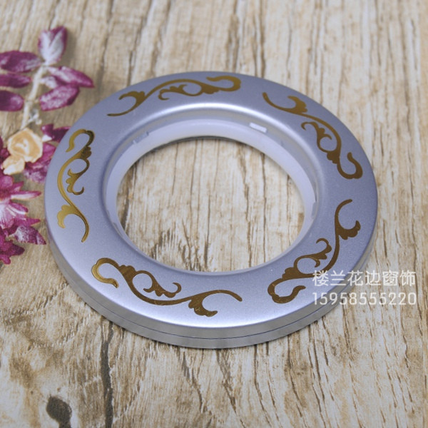 Direct factory price lace curtains buckle Roman cloth circle circle bronzing hot wreath<br><br>Aliexpress