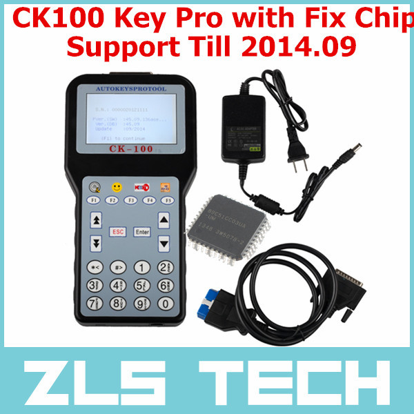 V45.09 CK-100 CK100 Auto Immobilizer Key Programmer SBB CK100 Key Programmer Support Till 2014.09 With 2014 Tokens One Fix Chip(China (Mainland))