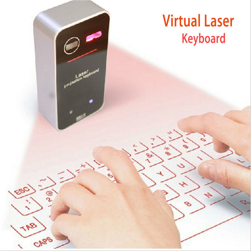 10pc/lots Portable Virtual Laser keyboard and mouse for Ipad Iphone Tablet PC, Bluetooth Projection Projected Keyboard Wireless(China (Mainland))