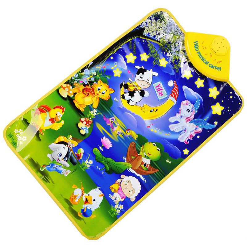 Christmas Gift Promotion Cute Toy Musical Farm Baby Play ...