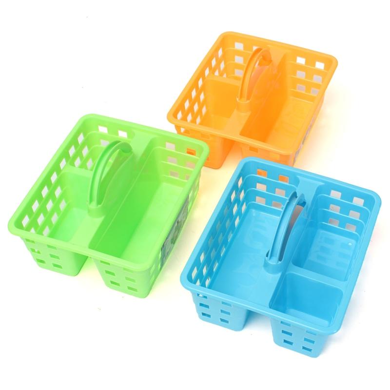 Plastic Storage Caddy With Handle - Listitdallas
