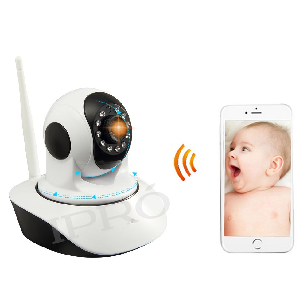 baby electronic monitor Webcam Wireless 720P HD IP Baby Monitor Camera Pan Tilt Network CCTV Security/babyphone video(China (Mainland))
