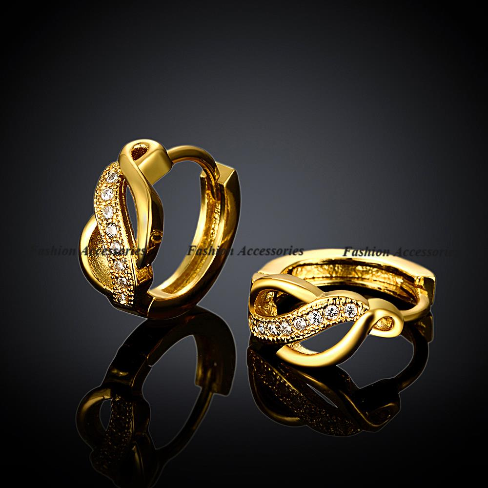 Creative Gold Earrings For Girls Within Indian Gold Earrings Designs For Girls