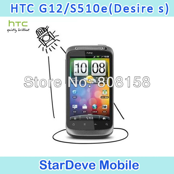 Best Sell Original HTC Desire S G12 Unlocked Mobile Phone S510e 3G Android Smartphone GPS WIFI 5MP Camera(China (Mainland))