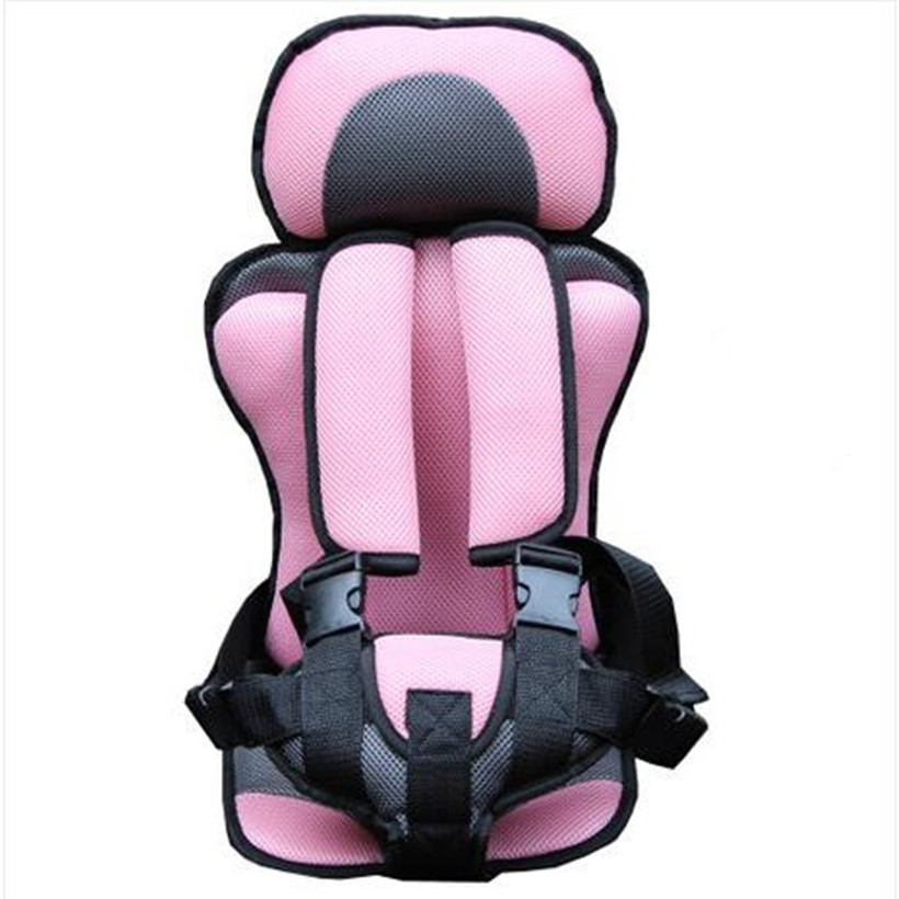 Portable Car Seats,Updated Version,Pink+Gray Color,Sky Blue+Gray Color,Thickening Sponge Kids Car Seats,Car Child Safety Seats(China (Mainland))