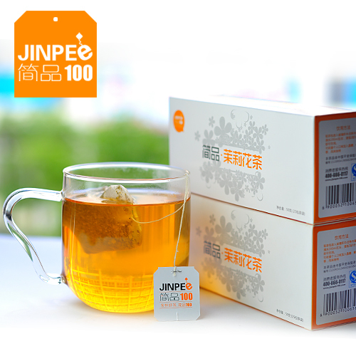 Arbitraging jasmine flower tea herbal tea boxed 2 50g box tea bags(China (Mainland))