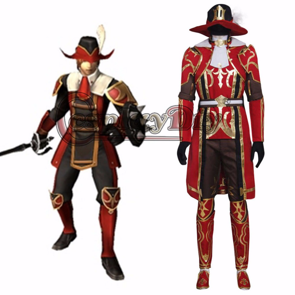 Popular Red Mage Costume-Buy Cheap Red Mage Costume lots from China Red Mage Costume suppliers ...