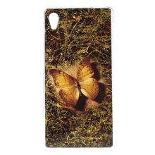 Sony Xperia M4 Aqua TPU Cases Lifelike Butterfly / Dual Slim Cover Case - Tvc mall online 6 store