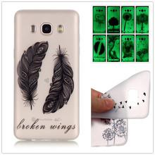 Slim Fashion Luminous TPU Gel Soft Phone Case Samsung Galaxy J5 2016 J510 Noctilucent Silicone Back Cover Protective Shell - Civilization Co.,Ltd store