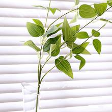 1pcs 83cm Vitality  silk Green wicker DIY Flower arranging accessories plant flower vine/rattan artificial plant leaves bonsai(China (Mainland))