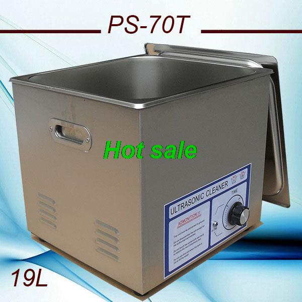 globe AC110/220V Ultrasonic cleaner 19L 420W PS-70T 40K Hz computer motherboard and auto parts with FREE basket(China (Mainland))