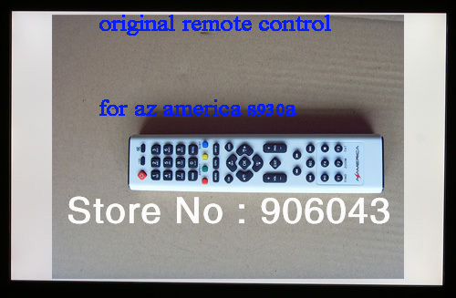 Free shipping wholesale  AZ America S930  Remote Control digital satellie receiver control