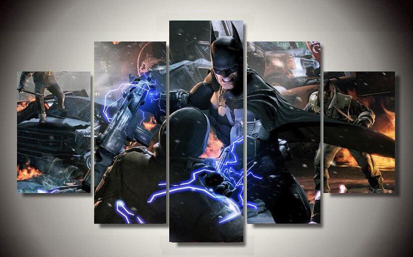 Schilderij Arabisch : ... Batman Film Groep Schilderij Kinderkamer ...