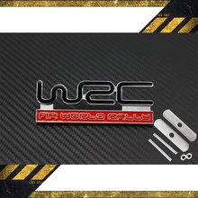 1Car Styling 3D Metal WRC Car Front Grille Sticker Emblem Badge Toyota Yaris Ford Fiat Citroen Skoda Volkswagen Kia - Salon styling Co.,Ltd. store