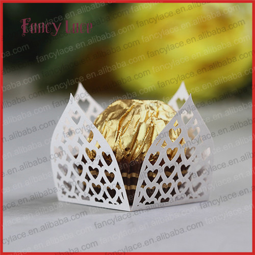 10Mini Chocolate Wrapper Birthday Gift,Wrapping Paper Candy Packaging Lace Wrappers Wedding Christmas - Fancylace Craft & Art Co., Ltd store