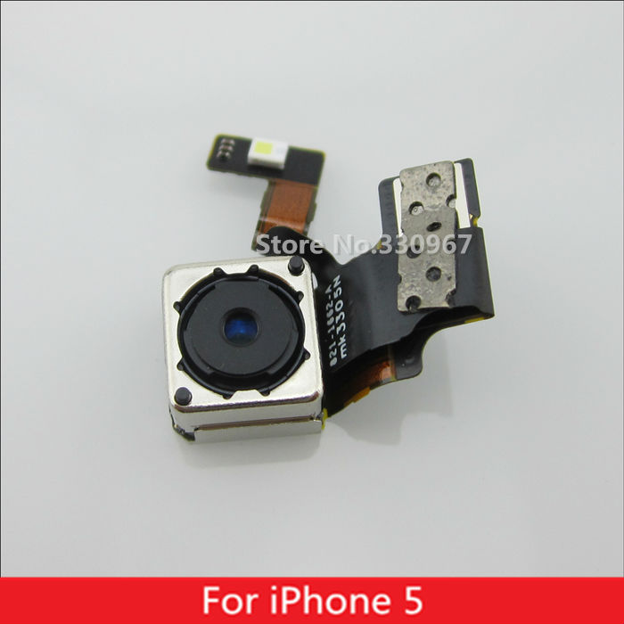 100% Original Back Camera Flex Cable for iPhone 5 5G free shipping