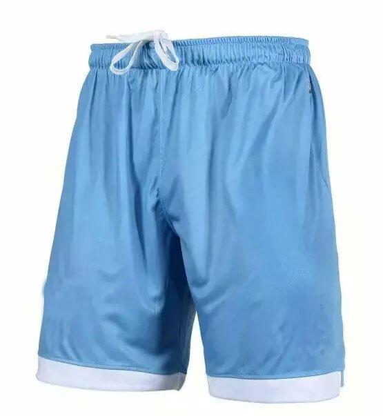 2015 Lazio Home blue Shorts MAURI KLOSE LEDESMA RADU EDERSON CANDREVA Embroidery logo Shorts 15 16 Lazio loose running shorts(China (Mainland))