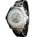 JARGAR Calendar Date Hour Week Analog Wristwatch Steel Band Male s Watches Mechanical Watches