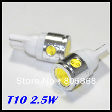 Buy 2.5W High Power White 4SMD LED Car T10 led W5W 194 927 161 Side Wedge Light Lamp Bulb,2pcs/lot,free for $4.62 in AliExpress store